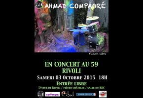 AHMAD COMPAORÉ SOLO @ Crisis Festival