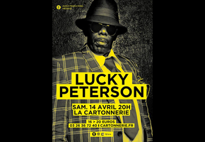 LUCKY PETERSON @ Reims