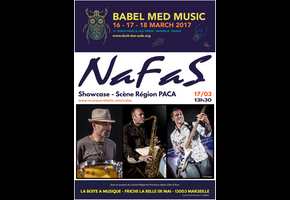 NAFAS @ Babel Med Music