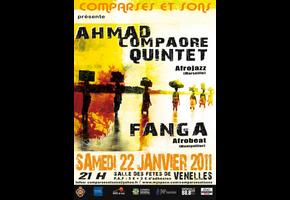 AHMAD COMPAORÉ QUINTET + FANGA