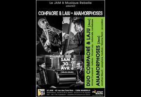 DUO COMPAORÉ & LAJU + ANAMORPHOSES