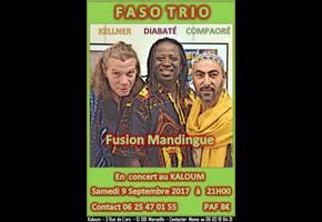 FASO TRIO (DIABATÉ KELLNER COMPAORÉ)