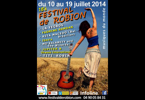 AHMAD COMPAORÉ TRIO @ Festival de Robion