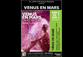 VÉNUS EN MARS