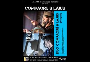 DUO COMPAORÉ & LAJUS